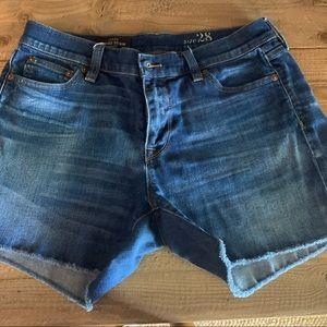 J Crew Denim Shorts 28